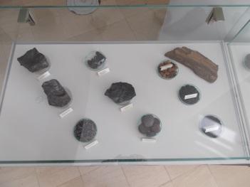 Eșantioane de grafit natural, sisturi bituminoase și precursori de materiale carbonice (tip mangal și cărbune activ din xilit), colecția Laborator carbochimie - UPB